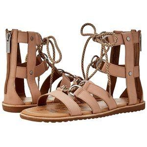 New Sorel Ella Gladiator Lace Up Sandal